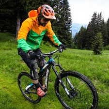 Location VTT cross Country Megève