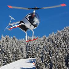 baptême en hélicoptère et ULM en Savoie