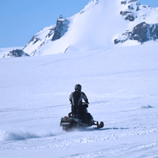 Balades moto neige Haute-Savoie