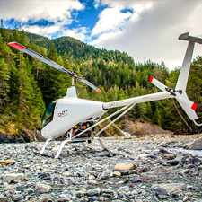 baptême en hélicoptère et ULM Haute-Savoie