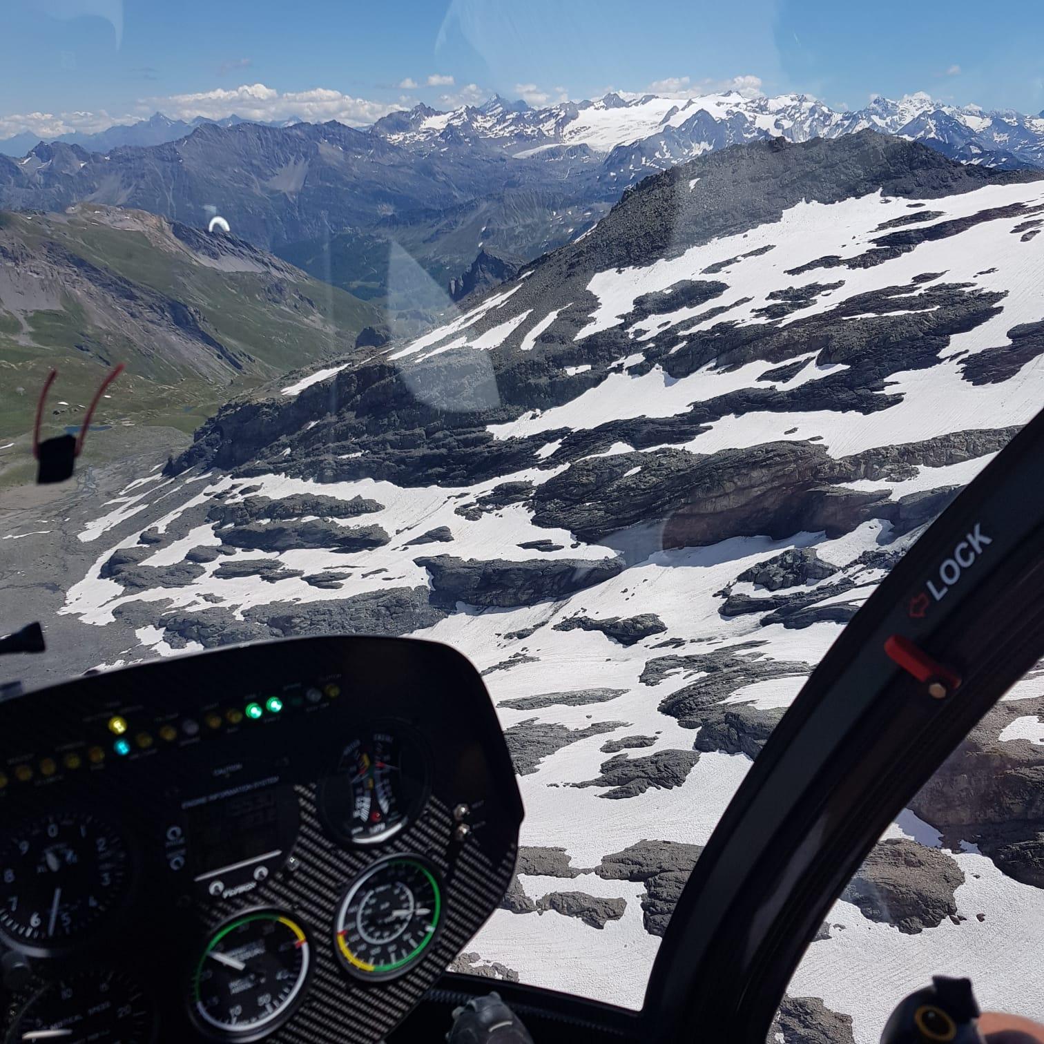 Vol hélicoptère Lac Annecy